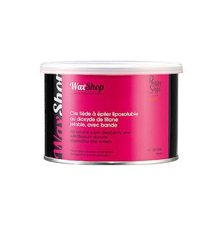 Fettlösligt ljummet vax med remsa 400 ml rose