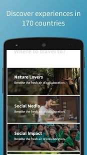 Worldpackers – Travel App- screenshot thumbnail