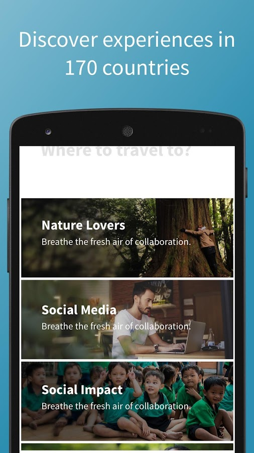 Worldpackers – Travel App- screenshot