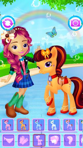 Pony & Girl Dress Up filehippodl screenshot 5