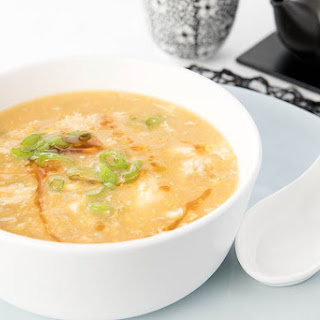 Chinese Chicken Soup with Sweetcorn (Thermomix).