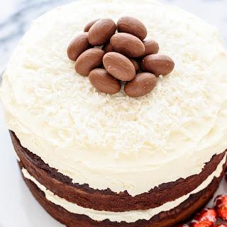Triple Chocolate Easter Cake