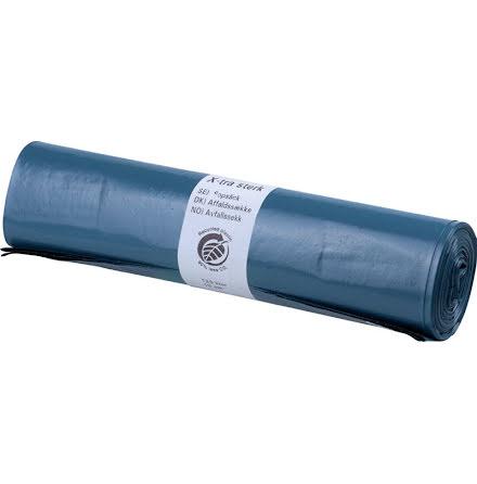 Sopsäck Blå 90my
