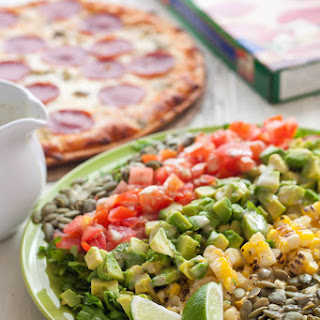 Chopped Salad with Hatch Green Chile Vinaigrette