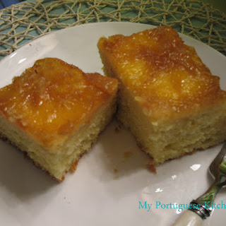 "Orange Upside Down Cake ""Bolo de Laranja"""