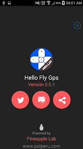 Hello FlyGPS screenshot 2