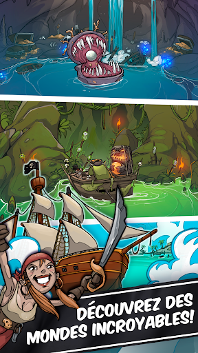 Télécharger Idle Tap Pirates - Titan de la mer APK MOD 2