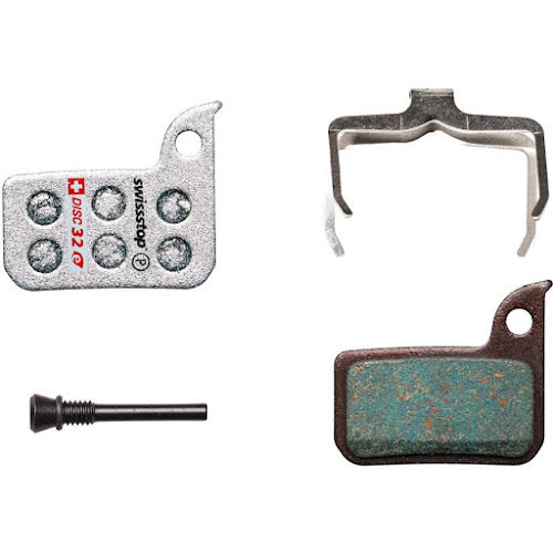 SwissStop Disc 32 E Compound Disc Brake Pad Set: for SRAM Road and Level Ultimate/TLM