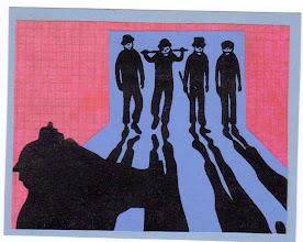 Photo: Wenchkin's Mail Art 366 - Day 194 - Card 194a