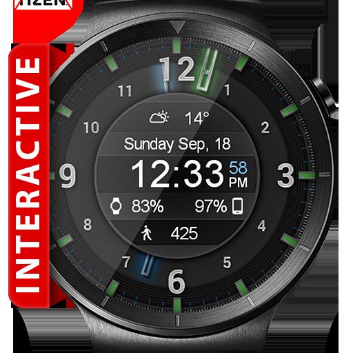 Galaxy Glow HD Watch Face Widget & Live Wallpaper Icon