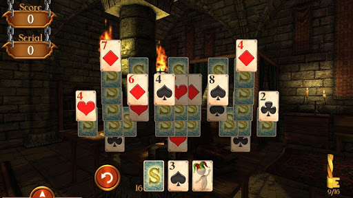 Solitaire Dungeon Escape Free - screenshot