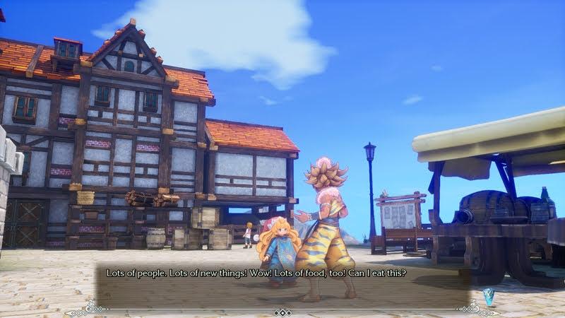 Seiken Densetsu 3 Trials of Mana สิ่งที่เปลี่ยนแปลง