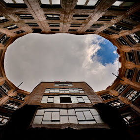 Casa Mila La Pidrera - Barcelona by Filip Caric - Buildings & Architecture Other Exteriors ( looking, up, images, sky, open, contest, challenge )
