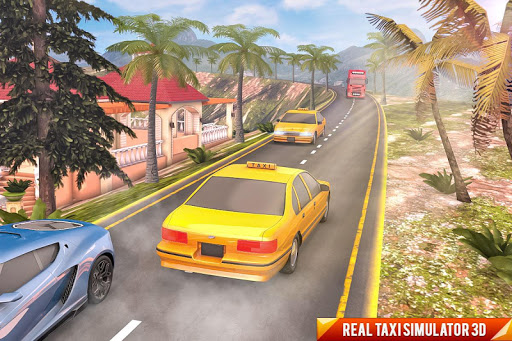 Drive Mountain City Taxi Car: Hill Taxi Car Games download 2