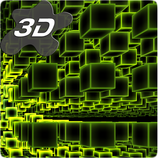 Infinite Cubes Particles 3D Live Wallpaper