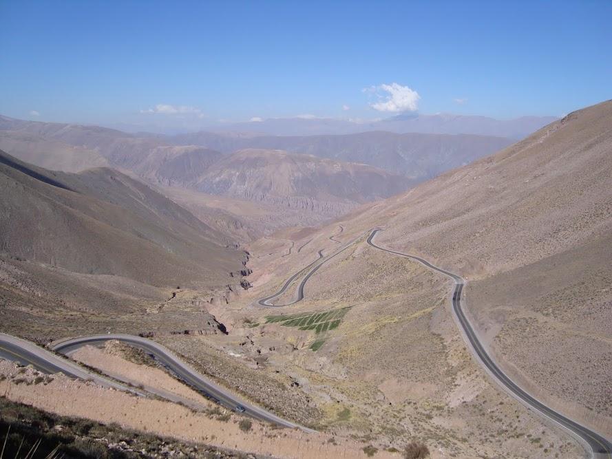 Carretera a Salinas Grandes