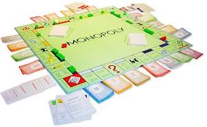 Monopoly-Spiel.