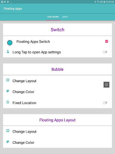 Floating apps - Multitasking 1.11 screenshots 12