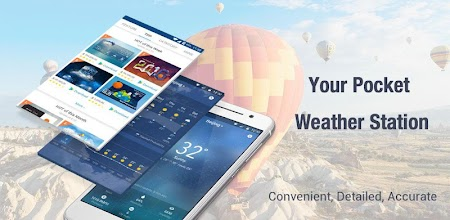 Daily&Hourly weather forecast APK poster