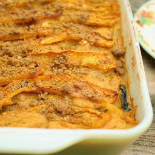 Creamy Pumpkin Lasagna [Vegan]