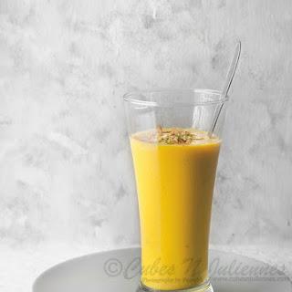 Mango-Dry fruit Saffron Lassi