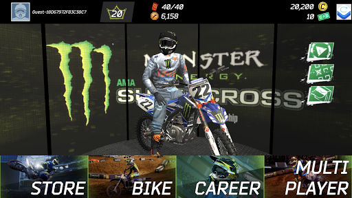 Monster Energy Supercross Game  screenshots 1