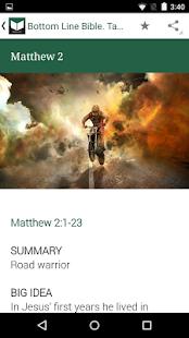 Bottom Line Bible. Taste - náhled
