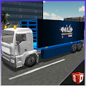 3D Milk Transporter Truck icon
