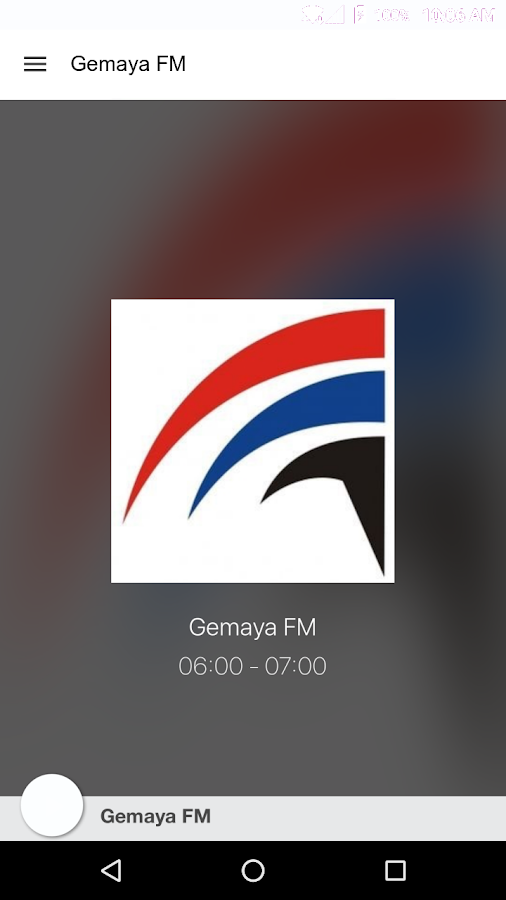 Gemaya FM- screenshot