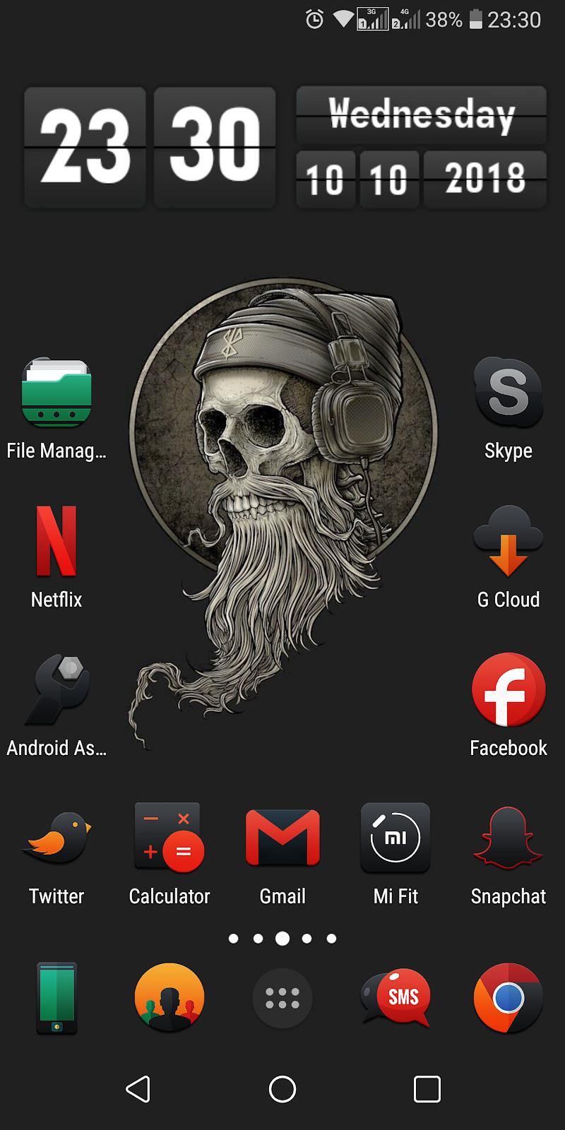Darkonis - Icon Pack Screenshot 3