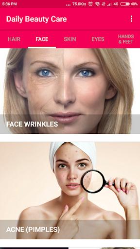 Daily Beauty Care - Skin, Hair, Face, Eyes 1.0.1 screenshots 2