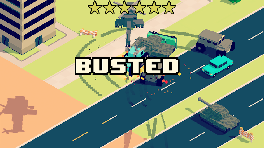 android Smashy Road: Wanted Screenshot 3