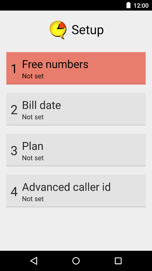 Data Usage - Call Timer- screenshot