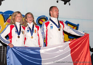 Photo: Voile Contact à 2, victoire de l'équipe France B avec 2 femmes dans une discipline mixte, Banjaluka 2014