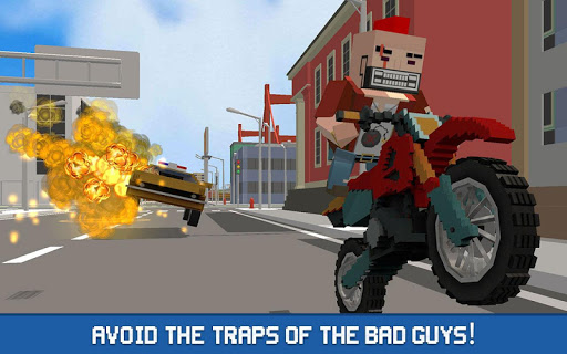 Blocky Police Driver: Criminal Transport 1.4 screenshots 1