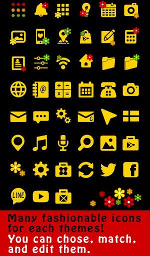 無料个人化Appの★무료 꾸미기테마★Peace Flowers|記事Game