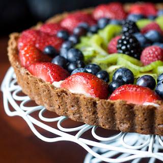Fruit Tart with Vanilla Pastry Cream.