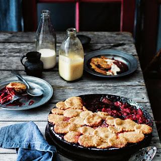 Rhubarb, Apple and Raspberry Pie Recipe
