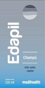 Shampoo EDAPIL   Medihealth Anti caída capilar x120ml.
