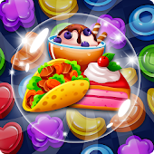 Food POP : New puzzle gravity world (Food burst 2)
