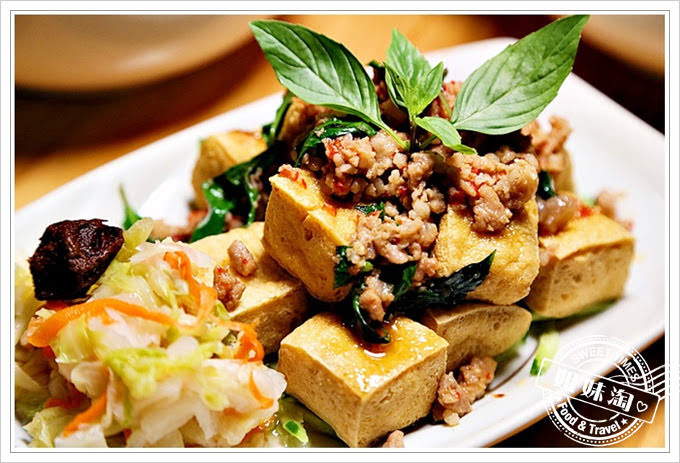 陳漢吉臭豆腐鍋燒餃子專賣招牌打拋豬臭豆腐