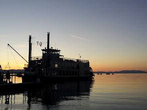 Photo: Tahoe Queen at dock