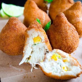 Coxinhas- Yummy Brazilian Chicken Croquettes