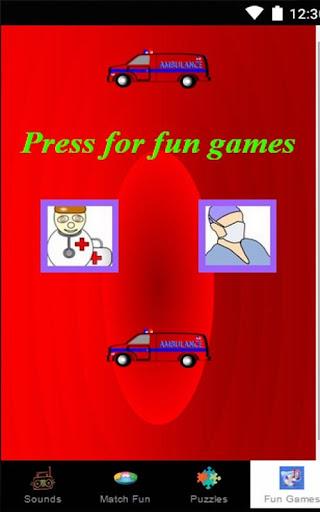 玩教育App|子供のための無料救急車ゲーム免費|APP試玩