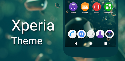 Theme - Xperia - Apps on Google Play