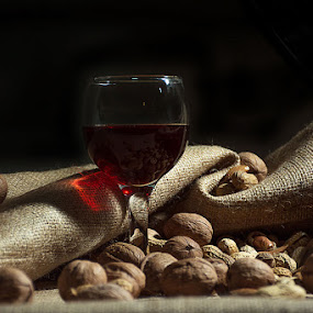 Wine by Tasos Triantafyllou - Food & Drink Alcohol & Drinks ( still life )