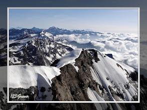 Photo: Gran Paradiso, du sommet de la Grande Ciamarella