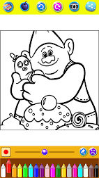 Coloring Pages For Crazy Trolls APK screenshot thumbnail 5