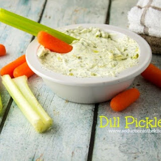Dill Pickle Dip #SundaySupper