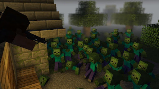 Zombie Apocalypse map for MCPE. New maps and mods screenshots 9